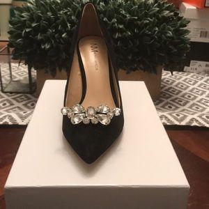 Neiman Marcus black heels